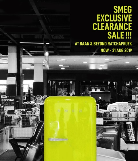 Smeg Exclusive Clearance Sale at Baan & Beyond Ratchapruek