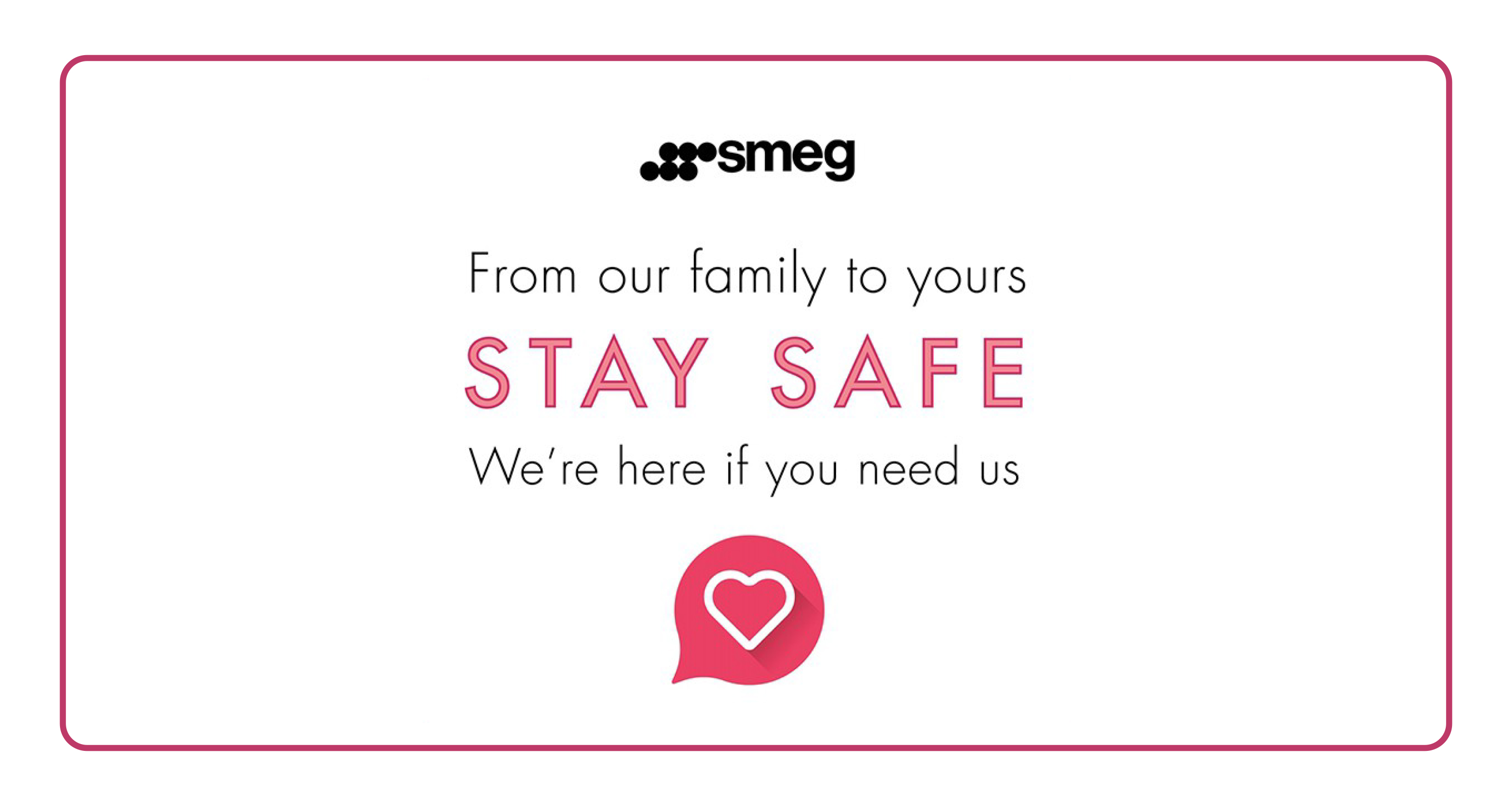 SMEG STAY SAFE